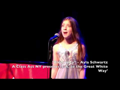 A Class Act NY Presents Ayla Schwartz singing Electricity