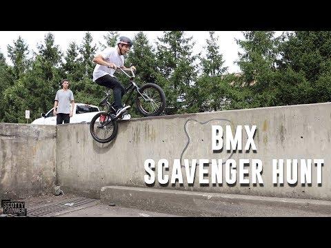 BMX TRICK SCAVENGER HUNT! PT. 2