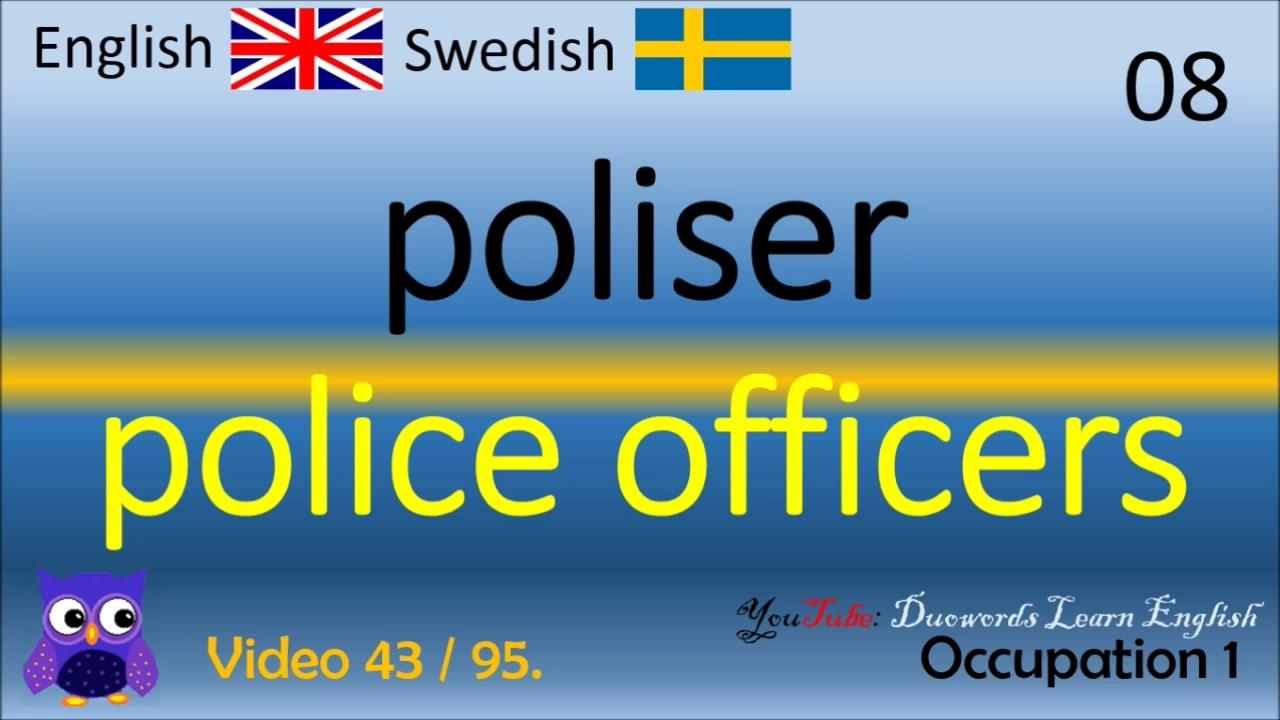Swedish English