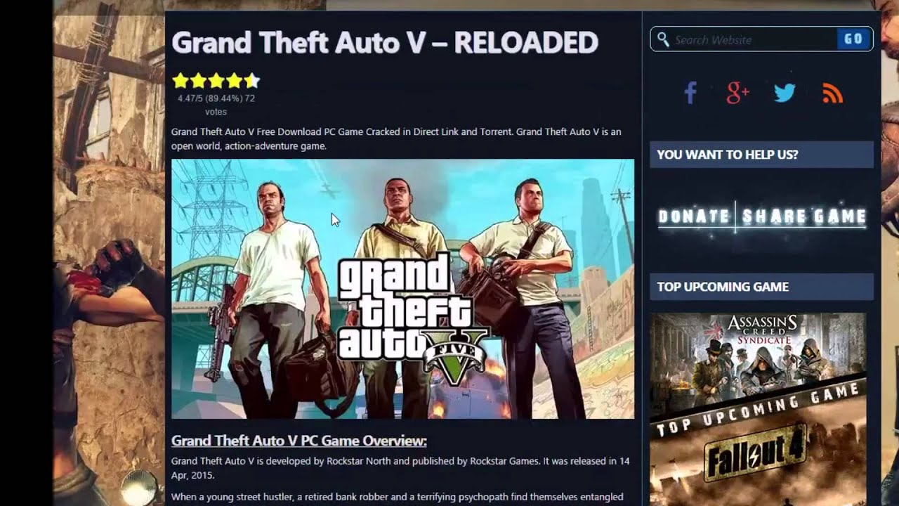 gta 5 download for free on mac