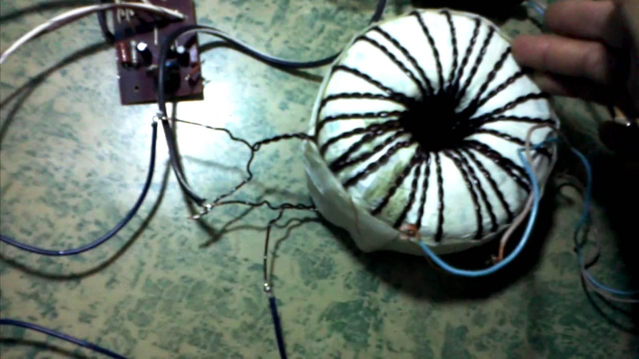 схема преобразователя на полевых транзисторах