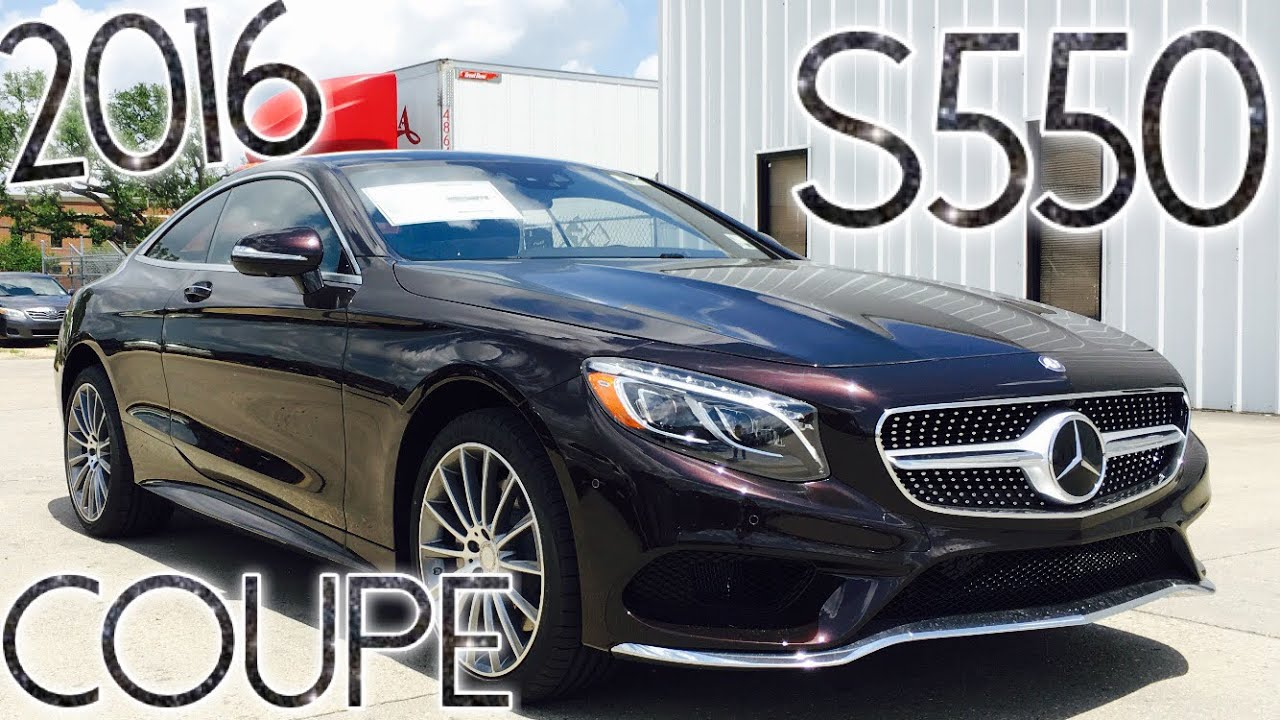 2016 Mercedes S550 Coupe 4matic Full Review Start Up Exhaust