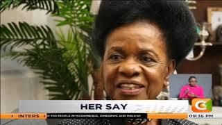 Her say   Prof. Julia Ojiambo is a veteran politician