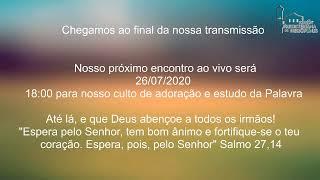 Live IPH 26/07/2020 - Escola Bíblica Dominical