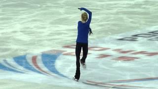Елена Радионова, КП на тренировке (ЧР 2015)