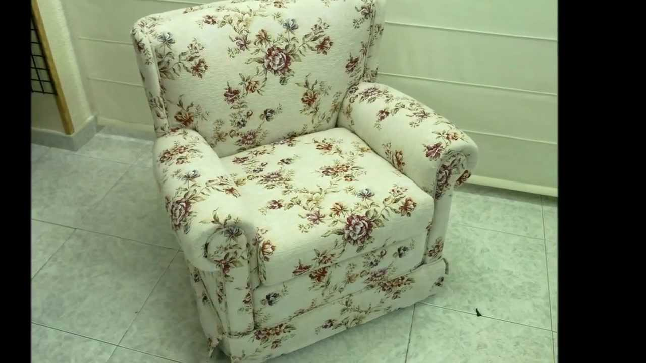 Tapizar sill n youtube - Restaurar sillon antiguo ...