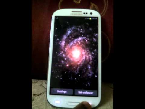 Samsung Galaxy S3 live wallpapers - YouTube