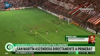 San Martín de Tucumán analiza pagarle solo el 50% del sueldo al plantel