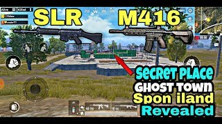 PUBG MOBILE | SECRET PLACE | GHOST TOWN | REVEALED | GREAT LOCATION TO FIND LOT'S OF LOOT |