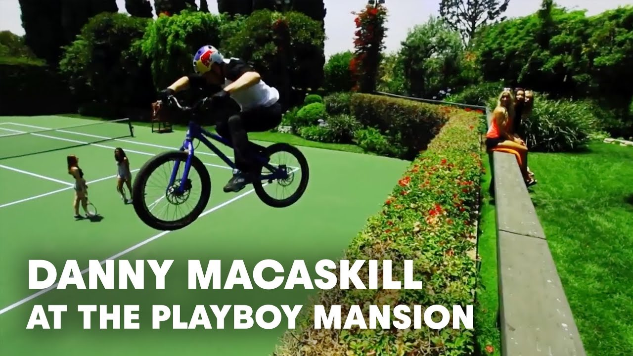 Danny Macaskill At The Playboy Mansion Youtube