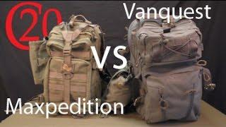 Vanquest Falconer 27 vs Maxpedition Falcon II