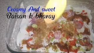 Baisan k dahi bhare recipe @Samee cooking recipes