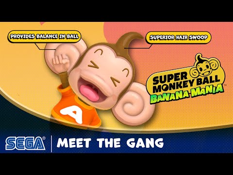 Super Monkey Ball Banana Mania | Meet the Gang
