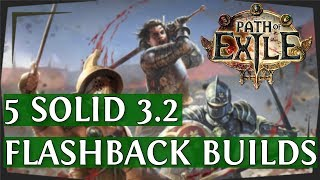 PoE 3.2 - 5 Solid Flashback League Starter Builds (Path of Exile 2018) thumbnail
