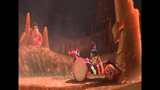 Wreck it Ralph - Shut up and Drive Scene