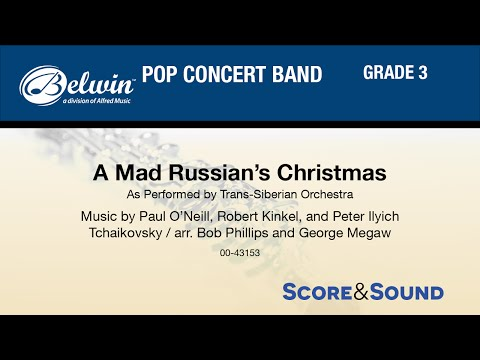 A Mad Russian's Christmas, arr. Bob Phillips and George Megaw - Score & Sound