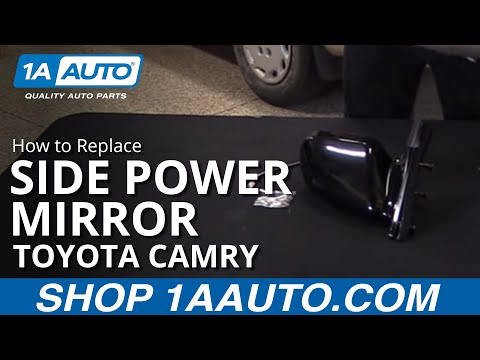 How to Replace Side Power Mirror 97-01 Toyota Camry