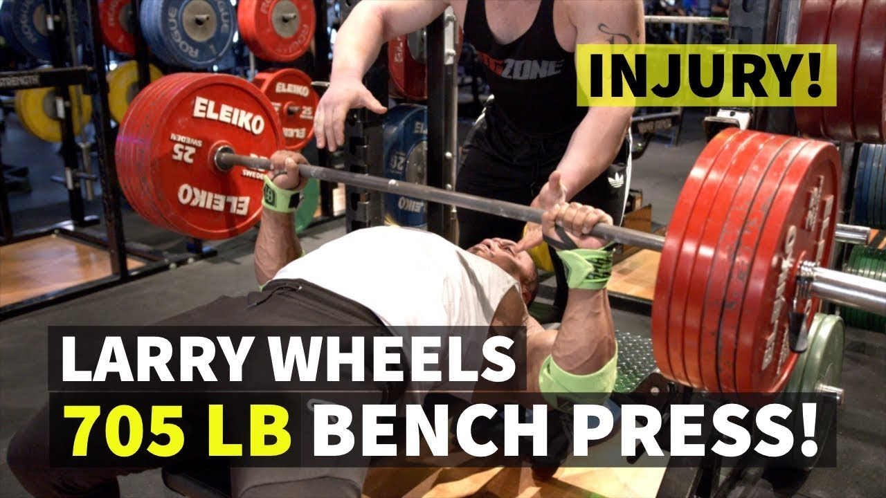 Larry Wheels Attempts 700 Pound Bench Press In Youtube Video