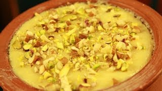 How To Make Phirni (rice Pudding) By Archana
