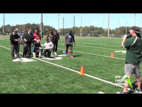 USF Kayvon Webster, CB 2013 Pro Day