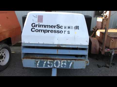 grimmer-schmidt-towable-diesel-air-compressor---tag-#47474