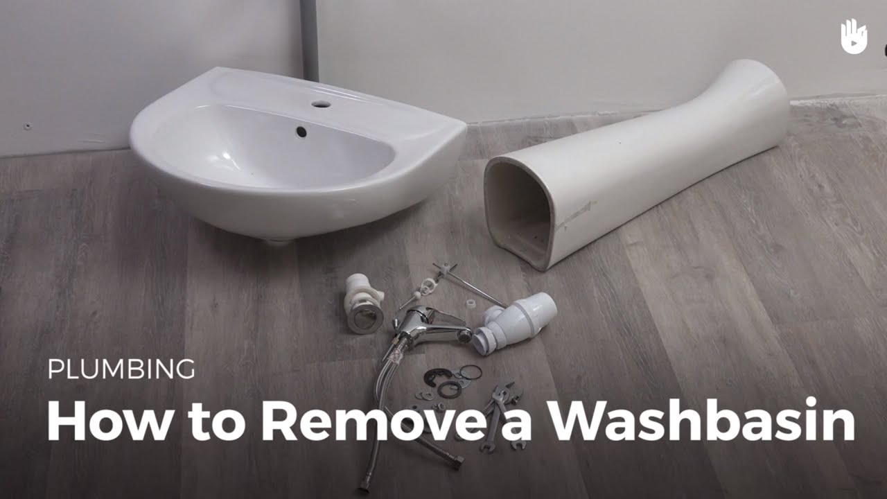 how to remove a bathroom sink diy projects