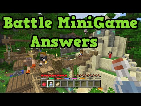 Minecraft Xbox One / PS4 Mini Games Gameplay & QnA!