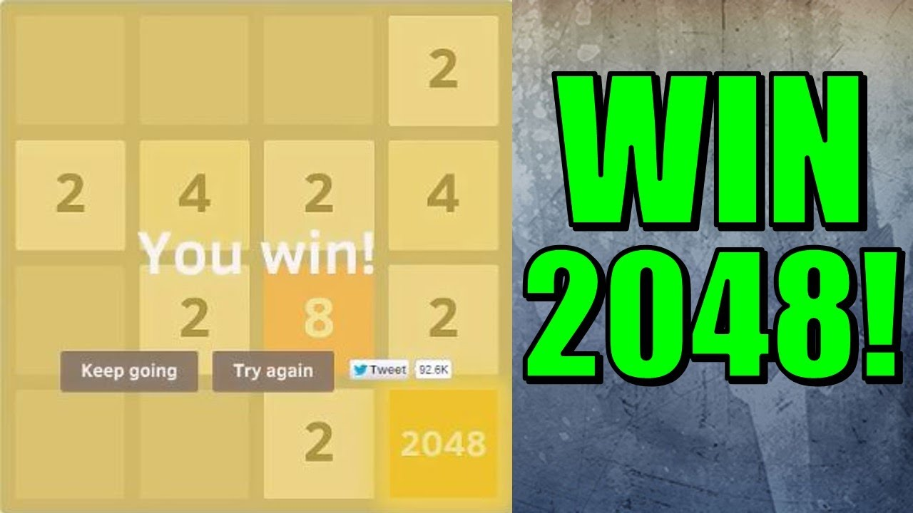 2048: how to win 17
