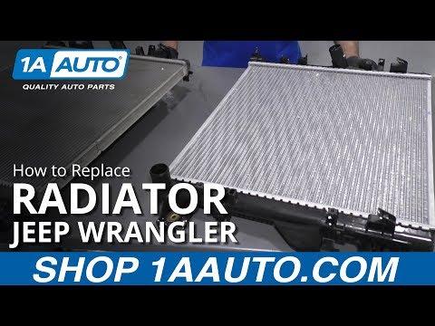 How to Change Radiator 07-17 Jeep Wrangler