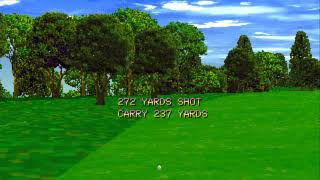 Tecmo World Golf   Japan USA mp4 HYPERSPIN SONY PSX PS1 PLAYSTATION NOT MINE VIDEOS