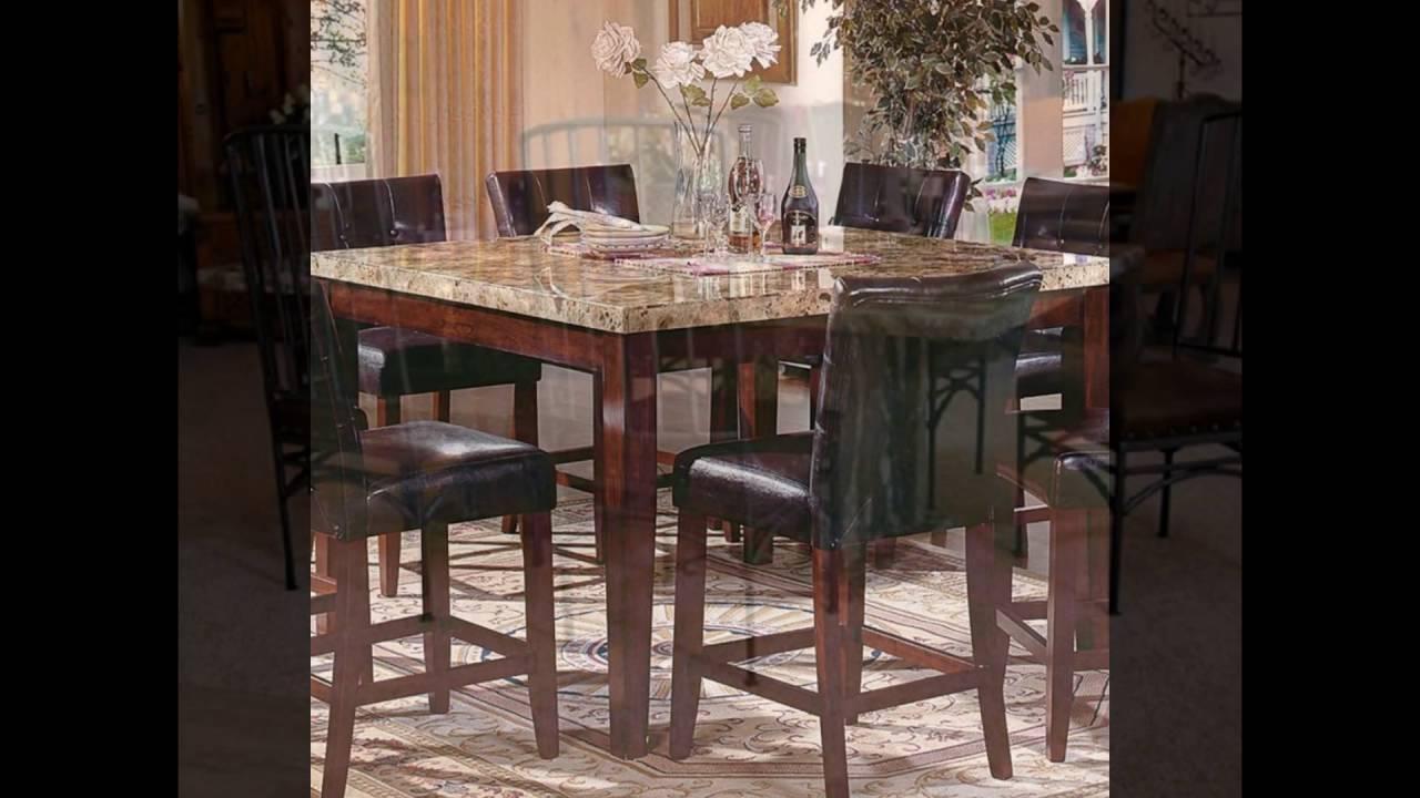 granite table sets - YouTube