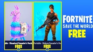 How To Get Fortnite SAVE THE WORLD For FREE! [PS4, Xbox One
