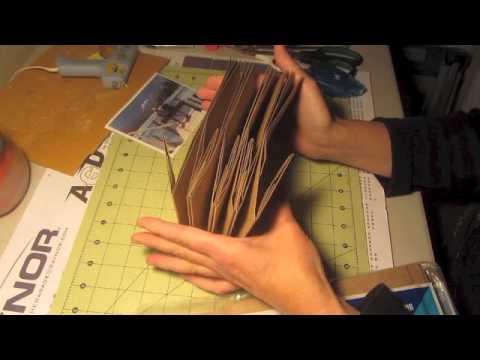 Paper Bag Mini Album I'm Making Mini Scrapbook Album