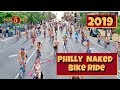 Philly Naked Bike Ride 2019 - August 24 Philadelphia, PA - Drone Video