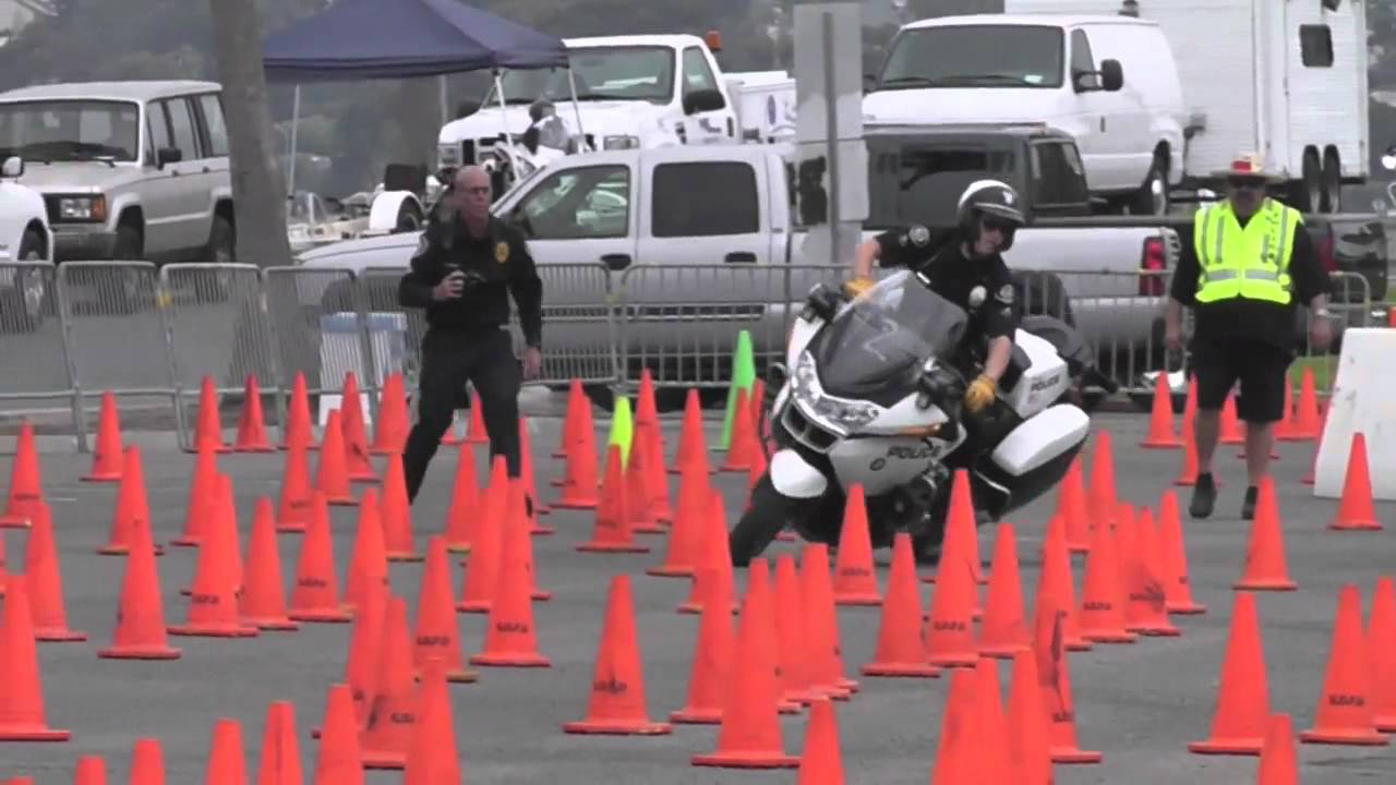 San Diego County Motor Officers Assoc Competition  BMW R1200RT
