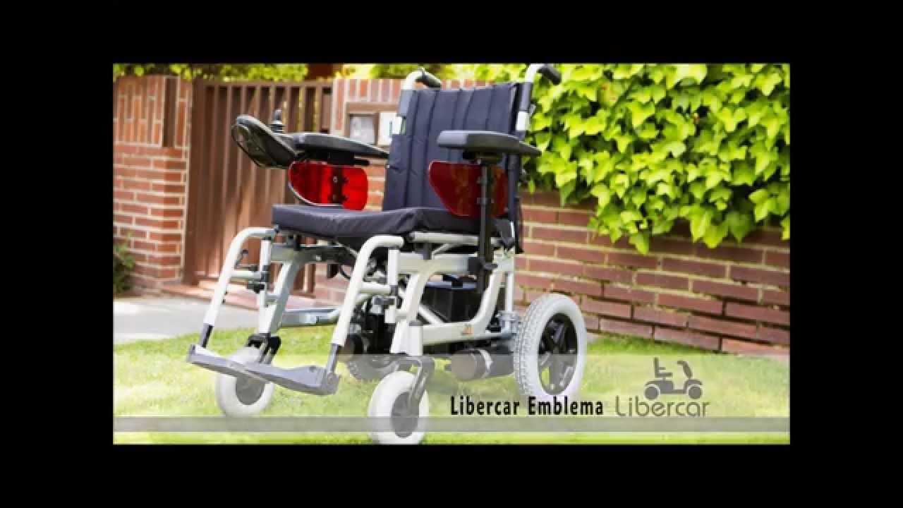 silla de ruedas electrica libercar emblema