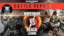 Warhammer 40,000 Battle Report: Imperium vs Black Legion 2000pts