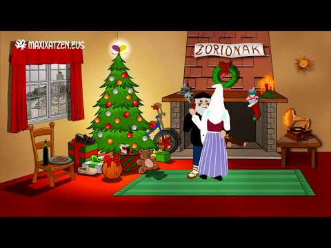 Zorionak eta Urte berri on 2019 / Feliz Navidad y próspero año nuevo 2019 from YouTube · Duration:  1 minutes 10 seconds
