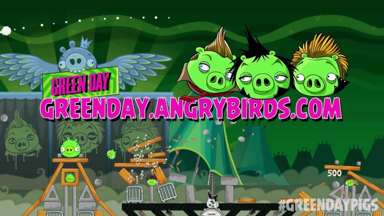 Angry Birds Friends ft. Green Day