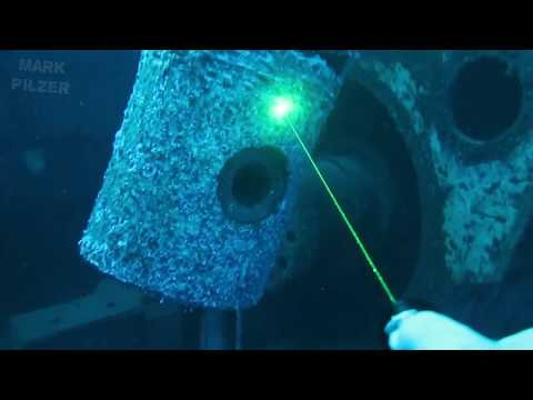 Orcatorch D570-GL LASER Dive Torch Review By Mark Pilzer