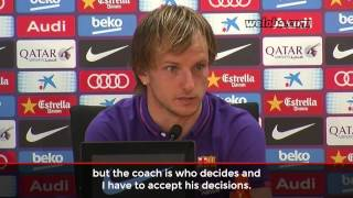 "Rakitic: ""Give the ball to Messi, Neymar or Luis Suárez and they will do it"" / www.weloba.com"
