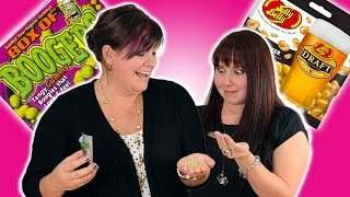 Candy Taste Test Challenge (jelly Belly Draft Beer & Box Of Boogers) Cookies Cupcakes And Cardio