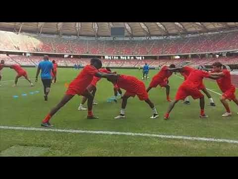 Liberia's Lone Star Warming Up In Cameroon For Central African Republic Game