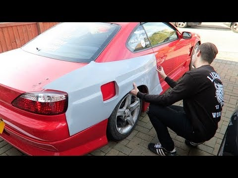 WE'RE GOING TO CUT HIS CAR UP! | PROJECT WIDE BODY S15