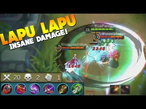 Mobile Legends Lapu Lapu BEST BUILD? (New Hero Gameplay)