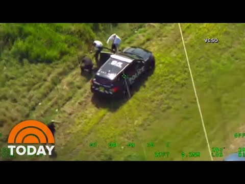 Florida Man Steals 2 Police Cars, Leads Officers On Wild Chase | TODAY