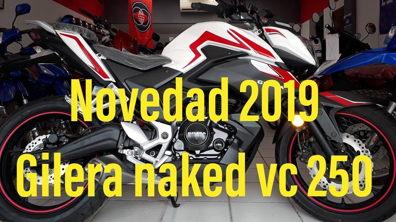 GILERA VC NAKED 250 - 2019-LONCIN NAKED 250- - YouTube