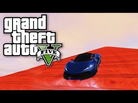 NAJLUDJA RAMPA I JOS LUDJI WALLRIDE ! Grand Theft Auto V - Lude Trke w/CALE