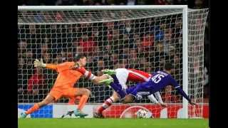 Champion League Arsenal 3 - 3 Anderlecht  ★★★