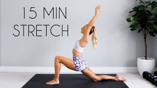 15 MIN FULL BODY STRETCH & COOL DOWN ROUTINE